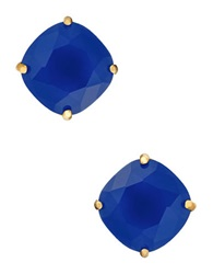 Kate Spade Small Square Stud Earrings Royal Blue