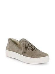 Seychelles Wheelhouse Suede Slip On Sneakers Taupe