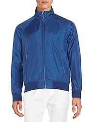 Gant Regular Fit Bomber Jacket Blue