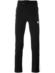 Dolce And Gabbana Snap Fastening Jogging Trousers Black
