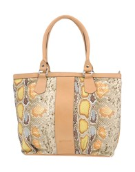 Galliano Handbags Camel