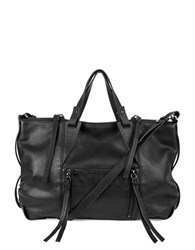 Kooba Dahlia Leather Satchel Black