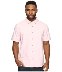 Vans Houser S S Wovens Rose Tan Men's Long Sleeve Button Up Pink