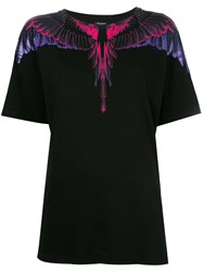 Marcelo Burlon County Of Milan Flora T Shirt Black