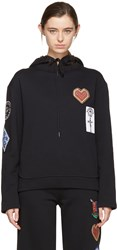 Opening Ceremony Black Soroity Patch Hoodie
