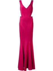 Zac Posen 'Vera' Dress Pink Purple