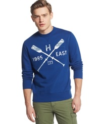 Tommy Hilfiger Sam Graphic Print Crew Neck Sweatshirt Limoges