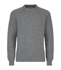Gieves And Hawkes Crew Neck Sweater Grey