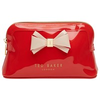 Ted Baker Aimee Makeup Bag Bright Orange