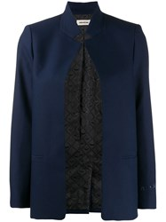 Zadig And Voltaire Volly Blazer Blue