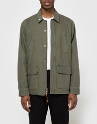 Obey Hoboken Jacket In Army
