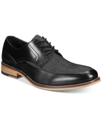 Bar Iii Men's Drew Mixed Media Oxfords Only At Macy's Men's Shoes Black