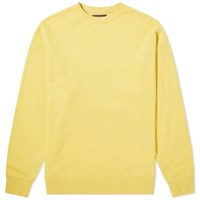 Beams Plus Crew Sweat Yellow