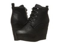 Sbicca Elsbeth Black Women's Lace Up Boots