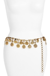 Raga 'Travellers' Coin Belt Gold