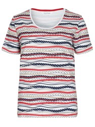 Tulchan Nautical Rope T Shirt White