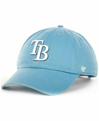 '47 Brand Tampa Bay Rays Clean Up Hat Lightblue