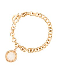 Lydell Nyc Clear Round Shaker Bracelet