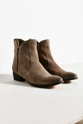 Urban Outfitters Seychelles Lucky Penny Fur Boot Taupe