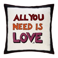 Jan Constantine Pop Art All You Need Is Love Cushion 46X46cm