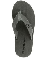 O'neill Phluff Daddy Thong Sandals Grey