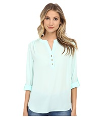Brigitte Bailey Karen Blouse Mint Women's Blouse Green