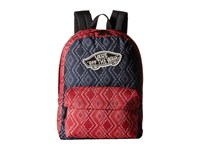 Vans Realm Backpack Bandana Chili Pepper Backpack Bags Red