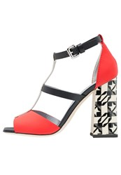 Pollini Sandals Fantasy Red