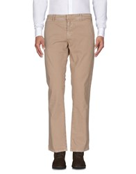Frankie Morello Casual Pants Camel