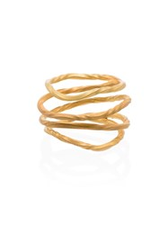 Orit Elhanati 18K Yellow Gold Egyptian Ring