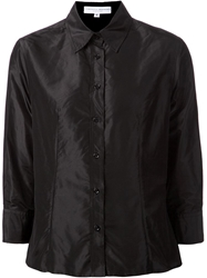 Carolina Herrera Cropped Shirt Black