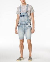 American Rag Men's Cotton Overall Shorts Created For Macy's Medium Wash