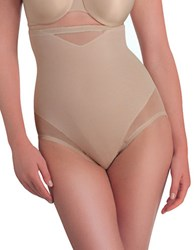 Miraclesuit Extra Firm Control Sexy Sheer High Waist Brief Beige
