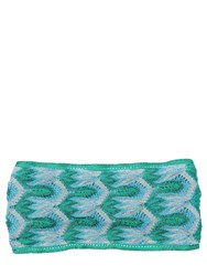 Missoni Two Tone Lace And Lurex Headband