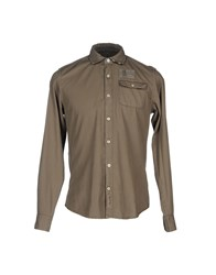 Napapijri Shirts Military Green