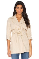 Sanctuary Jules Trench Tan