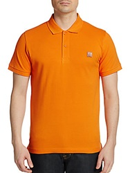 Bench Cotton Polo Shirt Orange