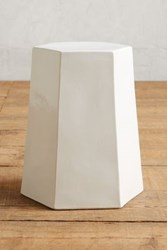 Anthropologie Calo Side Table White