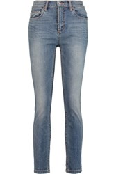 Marc By Marc Jacobs Ella High Rise Washed Skinny Jeans Mid Denim