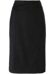 Marc By Marc Jacobs Straight Skirt Black