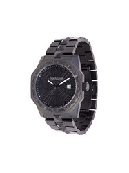 Roberto Cavalli Studded Watch Black