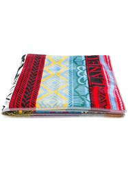 Laneus Patterned Beach Towel