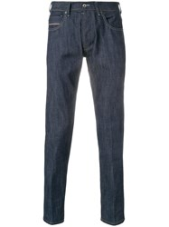 Re Hash Straight Leg Jeans Blue