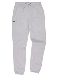 Lacoste Men's Sweatpants In Solid Fleece Slate