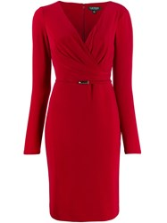 Lauren Ralph Lauren Wrap Front Dress 60
