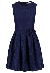 Mintandberry Peter Pan Cocktail Dress Party Dress Navy Blazer Dark Blue