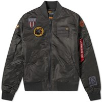Alpha Industries Ma 1 Air Force Jacket Black