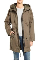 Obey Women's 'Saxon' 3 In 1 Parka And Bomber