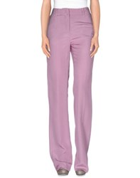 Class Roberto Cavalli Trousers Casual Trousers Women Light Purple