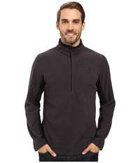 Mountain Hardwear Microchill 2.0 Zip T Shark Men's Long Sleeve Pullover Gray